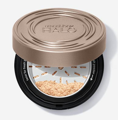 Рассыпчатая пудра для лица Halo Fresh Perfecting Powder