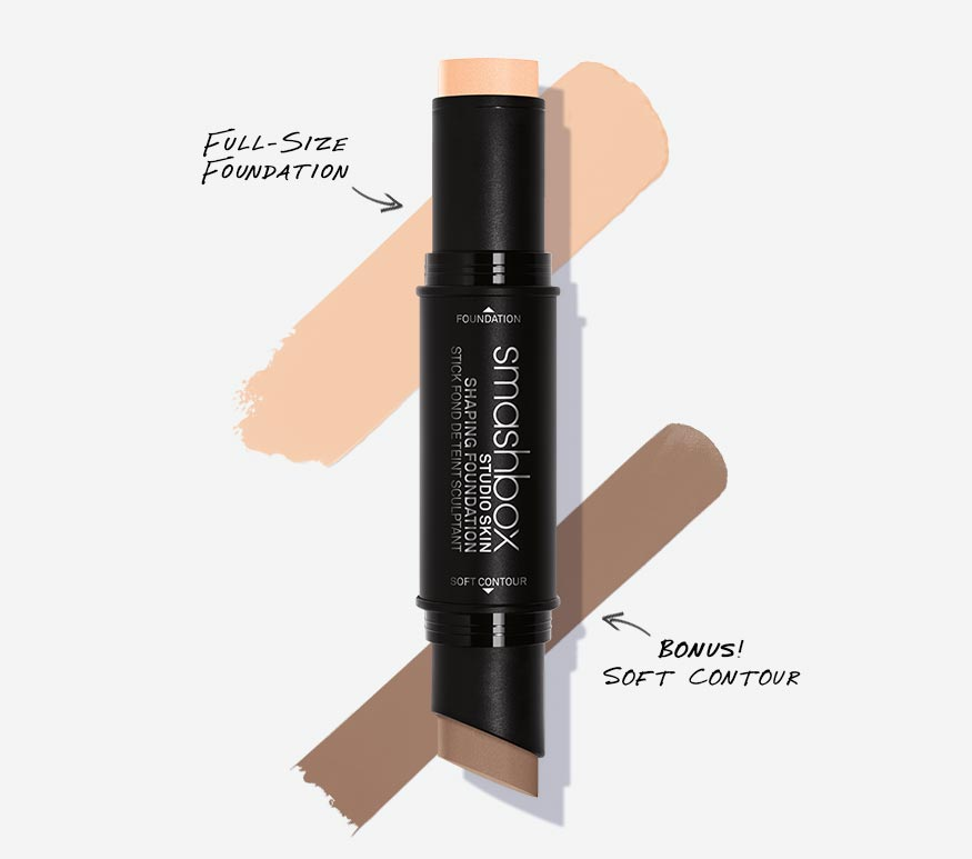 МОДЕЛИРУЮЩИЙ СТИК 2 В 1 STUDIO SKIN SHAPING FOUNDATION STICK